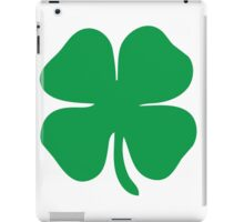 4 leaf clover iPad Case/Skin