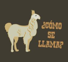 Como Se Llama?  What is your name? by TheShirtYurt