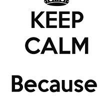 Keep calm, because race car! by Ninjastylie