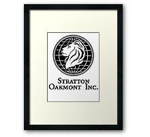 Stratton Oakmont Inc. Framed Print