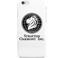 Stratton Oakmont Inc. iPhone Case/Skin