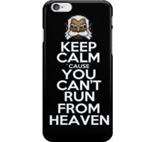 Keep calm ZEUS! iPhone Case/Skin