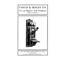 Magneto Call Telephone by Museenglish