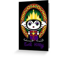 Evil Kitty Greeting Card