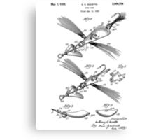 Fish Lure Patent 1933 Canvas Print