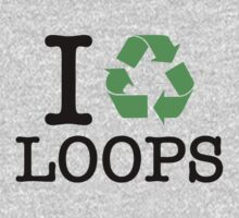 I Recycle Loops Kids Clothes