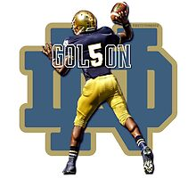 Everett Golson Notre Dame Football by jdsully20