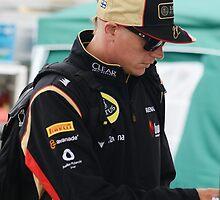 Kimi Raikkonen 2013 by Rhiannon D'Averc