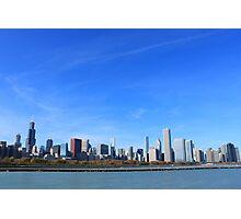 The Chicago Skyline Photographic Print