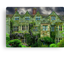 Manor House Staffordshire Canvas Print