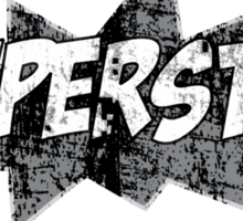 superstar vintage Sticker