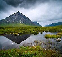 Buachaille Etive Mòr, The Highlands, Scotland by Giles Clare