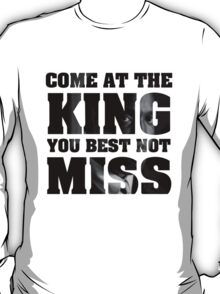 Omar Little - The Wire - Come at the king T-Shirt