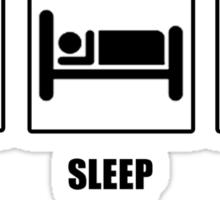 EAT SLEEP PLAY FIFA Sticker