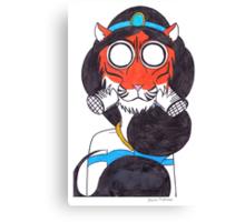 Fearsome Desert Tigress Canvas Print