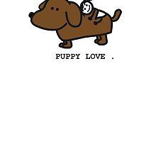 Puppy Love by mog2910