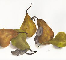 Pear quintet by LindaCamac