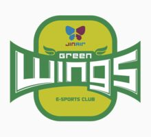 Jin Air Green Wings Logo by KespaClothing