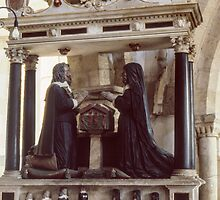 Tomb assemblage St Michaels Croftthorne England 198405140026  by Fred Mitchell