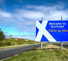 Welcome To Scotland by Evelina Kremsdorf