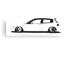 Honda civic eg Canvas Print