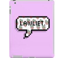 L Lawliet iPad Case/Skin