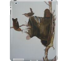 MR & MRS. WREN AND THEIR FAMILY iPad Case/Skin