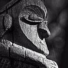 Wooden Sculpture in the Sculpture Garden in Canberra/ACT/Australia (1) by Wolf Sverak