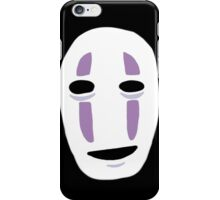 No Face from Spirited Away  iPhone Case/Skin