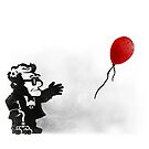 banksy UP by oliviero