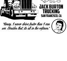 Jack Burton trucking by CarloJ1956