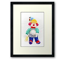 A Cook of Many Colours Framed Print