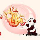 Fire Breathing Panda by Panda And Polar Bear
