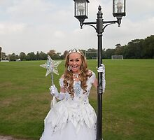 Pop idol Sonia as the good fairy in Sleeping Beauty by Keith Larby