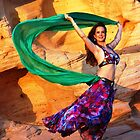 Kersti in Valley of Fire by loiteke