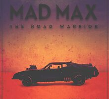 The Last of the V8's | Modern Mad Max Poster by Daniel Watts