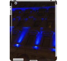 City Night Walks – Blue Highlights Facade iPad Case/Skin