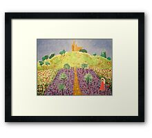 Cathedral-on-the-hill Framed Print