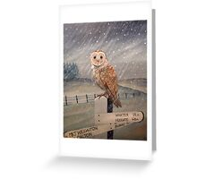 Waiting for the storm to pass.... Greeting Card