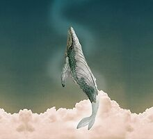 Baleen whale by SugarSpell