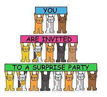 You are invited to a surprise party. by KateTaylor