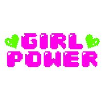GIRL POWER by dirtyneon