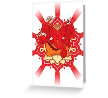 My divine Friend! Greeting Card