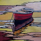 Molly (rowing boats) by Moira Ladd