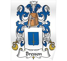 Bresson Coat of Arms (French) Poster
