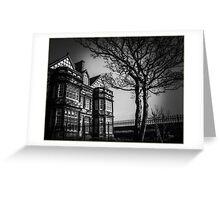 Haunted Greeting Card