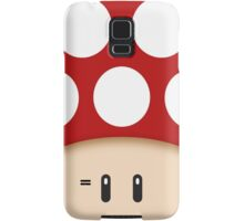 Red Super Mushroom Samsung Galaxy Case/Skin