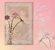 Cosmos - Digital Scrapbook Page  by Sandra Foster
