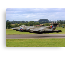 Buccaneer S.2B XV867 208 Sqn, lowdown at Fairford Canvas Print