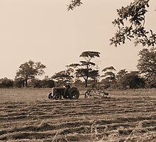 Vintage Farming by John Morris